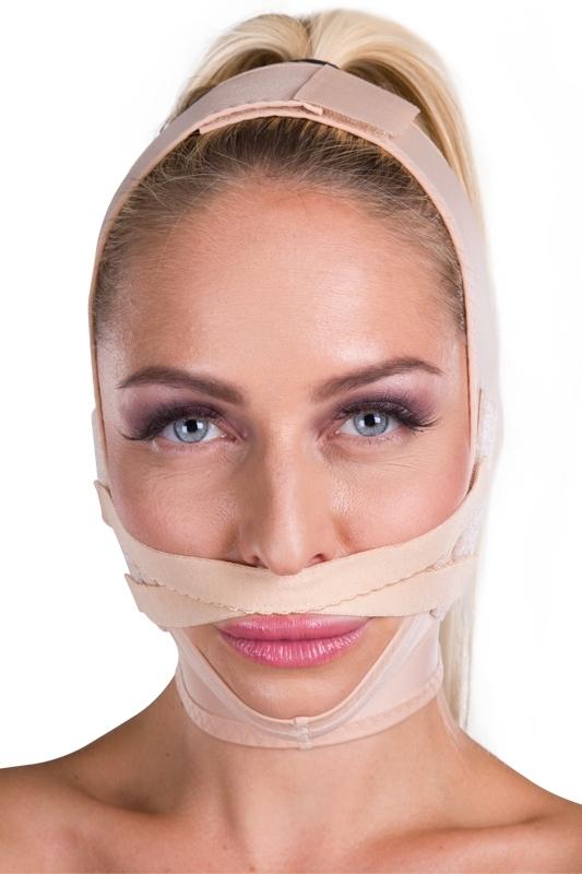 Gesichtsbandage FM lip lift - Lipoelastic.at