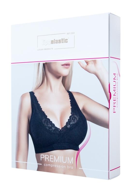 PI premium sexy Spitzen-BH nach einer Brustvergrößerung - Lipoelastic.at