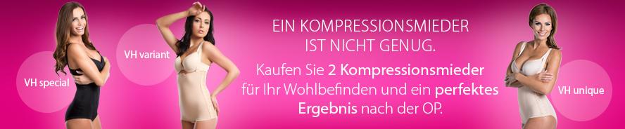 Postoperative Kompressionshosen für Damen - Banner